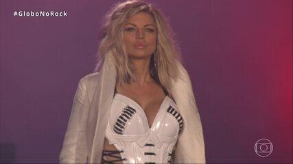 Fergie abre show no Rock in Rio 2017 com 'Hungry'