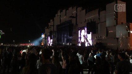Público se manifesta durante show de Frejat no Palco Mundo