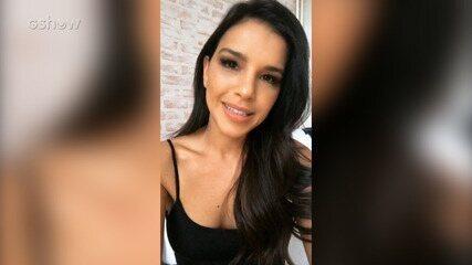 Mariana Rios convida internautas para assistir o The Voice Live