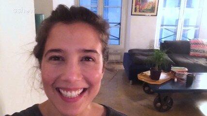 Marjorie Estiano comenta cenas favoridas de 'Sob Pressão'