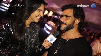 Juliano Cazarré vem ao Rock in Rio vestido de saia
