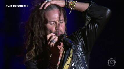 Aerosmith canta 'Cryin'' no Rock in Rio