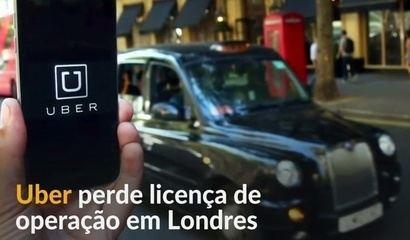 Uber perde licença de operação em Londres