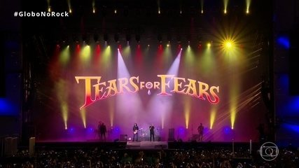 Tears For Fears abre show com 'Everybody wants to rule the world' no Rock in Rio