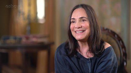 Regina Duarte fala sobre a experiência de gravar as cenas do Cabaré em 'Tempo de Amar'