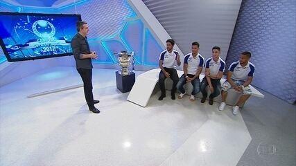 No estúdio do Globo Esporte/MG, campeões relembram momentos marcantes do penta do Cruzeiro
