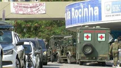 Tropas federais começam a deixar a Rocinha nesta sexta-feira