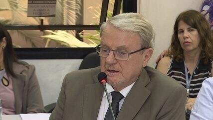 Marcio Lacerda durante CPI, nesta segunad-feira (2)