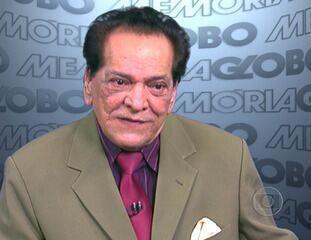 Lucio Mauro falou do início da carreira no teatro e na TV