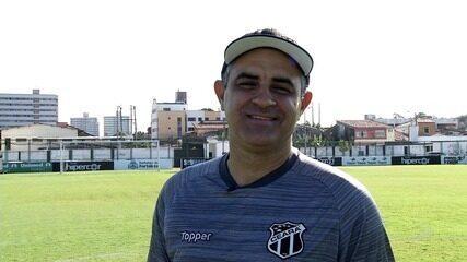 No dia do aniversário, Marcelo Chamusca festeja momento do Ceará e quer acesso de presente