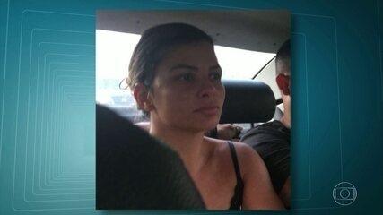 Mulher do traficante Nem é presa, na Ilha do Governador
