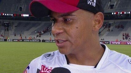 Walter fala sobre não comemorar o gol contra o antigo clube