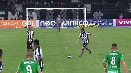 Melhores momentos: Botafogo 2 x 1 Chapecoense pela 27ª rodada do Brasileirão
