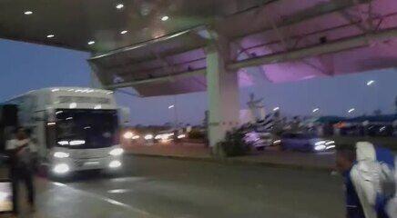Delegação do CSA chega ao aeroporto de Maceió