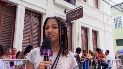 Luísa Melina, 12 anos, fala sobre importância das atrações infantis da Flica