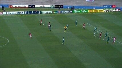 Veja os melhores momentos do jogo entre Vila Nova e Goiás