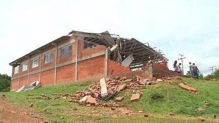 Sobe para 48 o número de cidades gaúchas atingidas pelos temporais