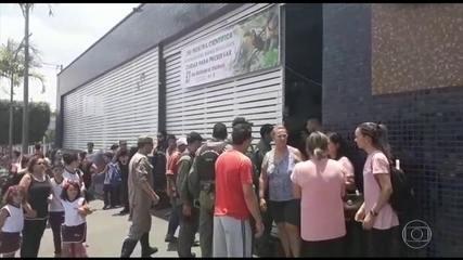 Aluno é suspeito de matar duas pessoas dentro de uma escola particular em Goiânia