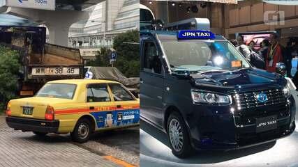 Toyota quer substituir táxis antigos no Japão