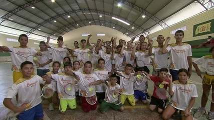 No Agreste, o trabalho árduo no badminton resultou em dezenas de medalhas