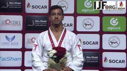 Judoca de Israel é campeão em Abu Dhabi, mas não tem direito de ouvir o hino do seu país