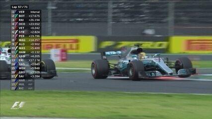 Hamilton ultrapassa Massa e entra na zona de pontuação