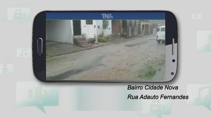 Moradores da Cidade Nova reclamam de falta de pavimentação, em Manaus