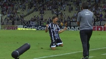 Os gols de Ceará 2 x 2 Guarani pela 34ª rodada da série B do Brasileirão