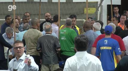 Confira imagens exclusivas dos bastidores da eleição do Vasco