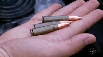 Polícia faz apreensões de munições e armas na região de Ourinhos