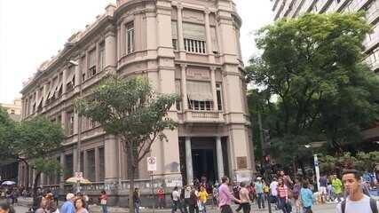 Tribunal Eleitoral inaugura posto na Praça Sete, em Belo Horizonte