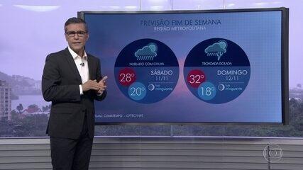 Previsão é de tempo instável para o Rio de Janeiro neste sábado (11)