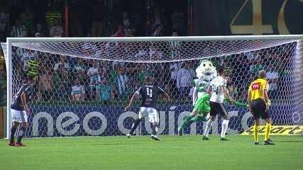 Os gols de Coritiba 1x1 Ponte Preta pela 34ª rodada