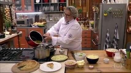 Toque do Ravioli: Aprenda duas receitas com ervilha torta