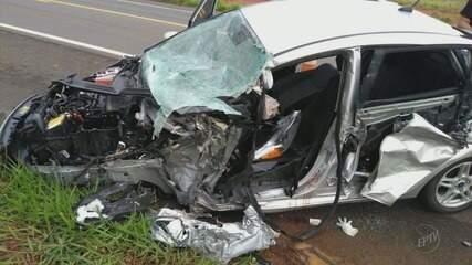 Padre fica ferido em acidente na BR-491 em São Sebastião do Paraíso (MG)