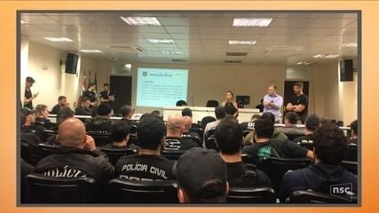 Polícia e MP deflagram operação contra fraudes em licitações em Laguna