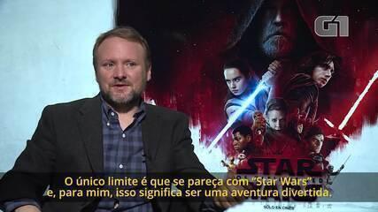 O 'limite' de Rian Johnson para expandir o universo de 'Star Wars'