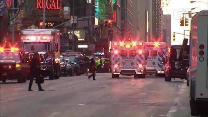Explosão de origem desconhecida é registrada em terminal de ônibus em NY