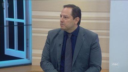 Jornal do Almoço debate a segurança pública na Grande Florianópolis