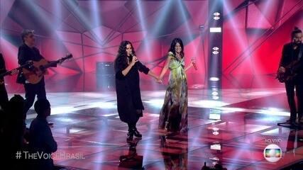 Day e Mariana Coelho cantaram 'Tempos Modernos'