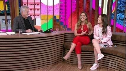 Ingrid Guimarães fala sobre participação no roteiro do filme e comenta cena com sua filha