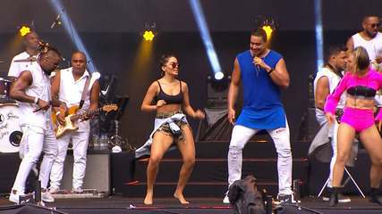 Festival de Verão: Confira os melhores momentos do show do Harmonia do Samba