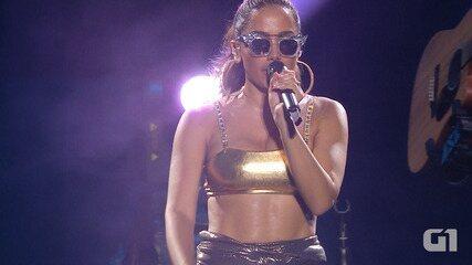 Festival de Verão: Anitta canta 'Sua cara'