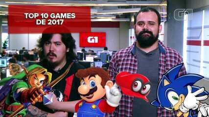 Veja quais são os 10 games mais importantes de 2017