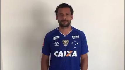 """Fred fala do retorno ao Cruzeiro: """"Certeza que vamos comemorar muitos títulos juntos"""""""