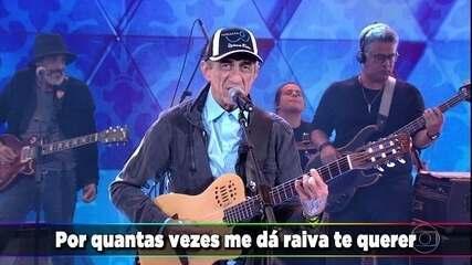 Fagner canta 'Deslizes'