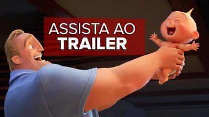 Assista ao trailer de 'Os incríveis 2'