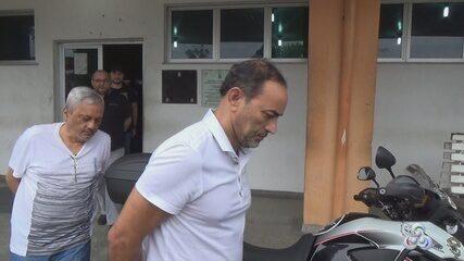 Suspeitos de propina, ex-secretários de governo são levados para penitenciária no AM