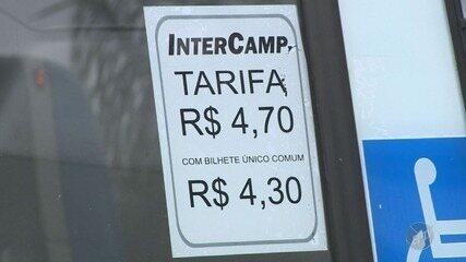 Passageiros reclamam do aumento da passagem no transporte coletivo de Campinas