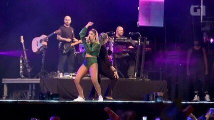 Anitta chama fã para dançar 'Sua Cara' no Fest Verão Paraíba 2018
